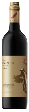 Birds of Paradise Yarra Valley Shiraz 2015
